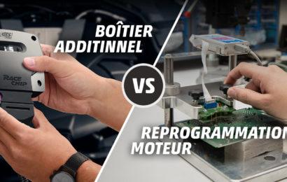 Reprogrammation moteur VS boîtiers additionnels